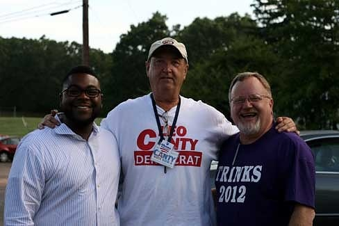 Brandon McGee, Leo Canty, and Don Trinks