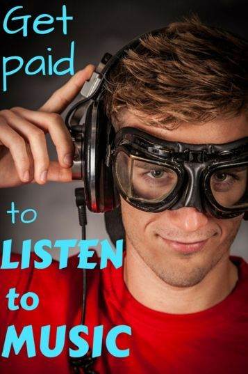 How to make money EXTRA money listening to music. It doesn't pay much but if it isn't really work for you it could be a fun way to earn money!