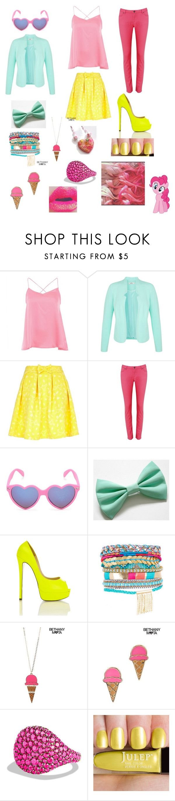 """""""P.P. Collection"""" by alex-bows ❤ liked on Polyvore featuring Alice & You, Miss Selfridge, River Island, Poem, With Love From CA, Aéropostale, David Yurman and Cotton Candy"""