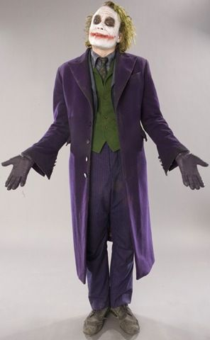 Halloween!! My husband was joker for last Halloween. Found a purple jacket at a thrift store. He looked awesome!!