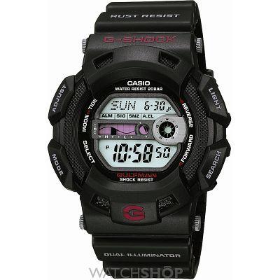 Mens Casio G-Shock Gulfman Alarm Chronograph Watch G-9100-1ER