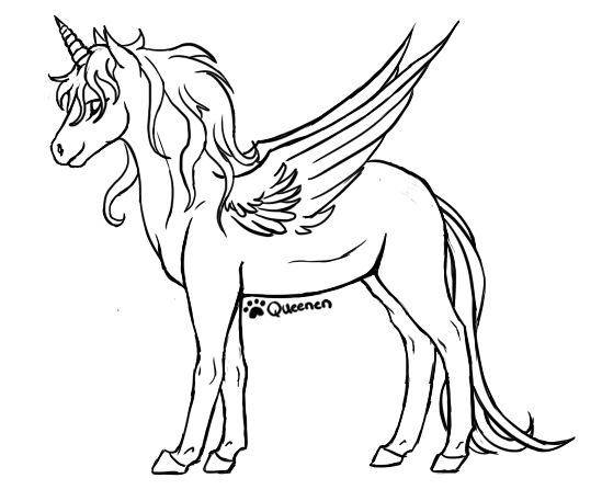 Alicorn Base By Queenen Jojo S Wish List Pinterest