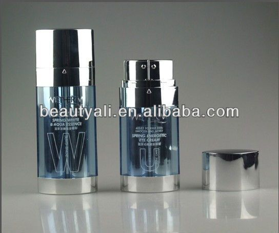 20ml 30ml Dual Chamber Airless Bottle For Cosmetic Packaging