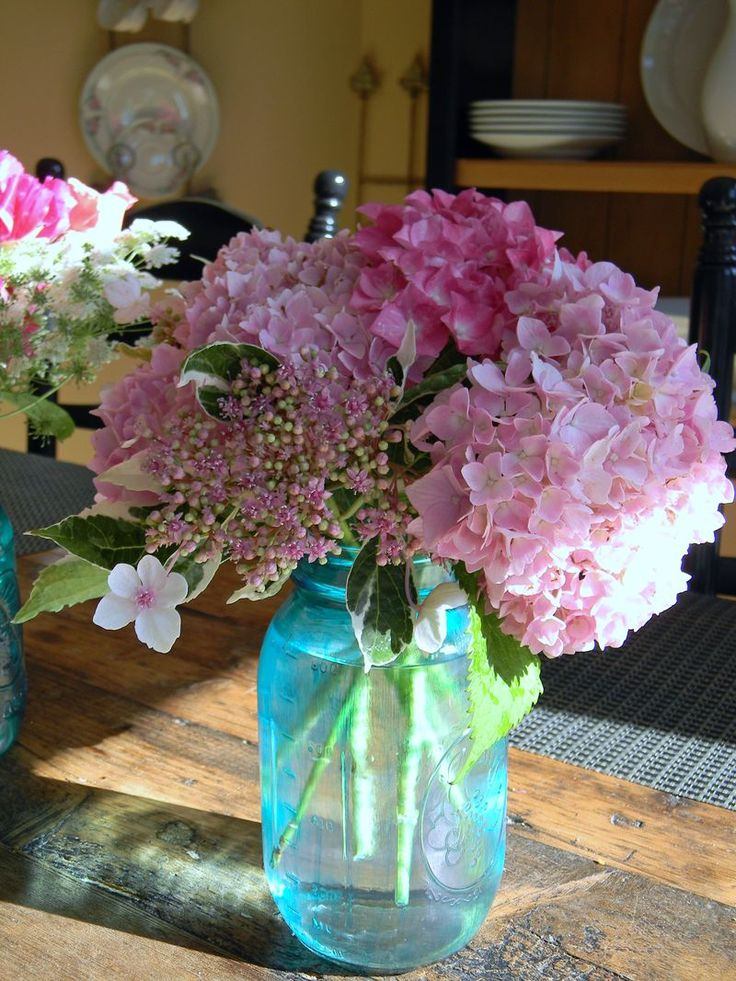 Best images about hydrangea centerpieces on pinterest