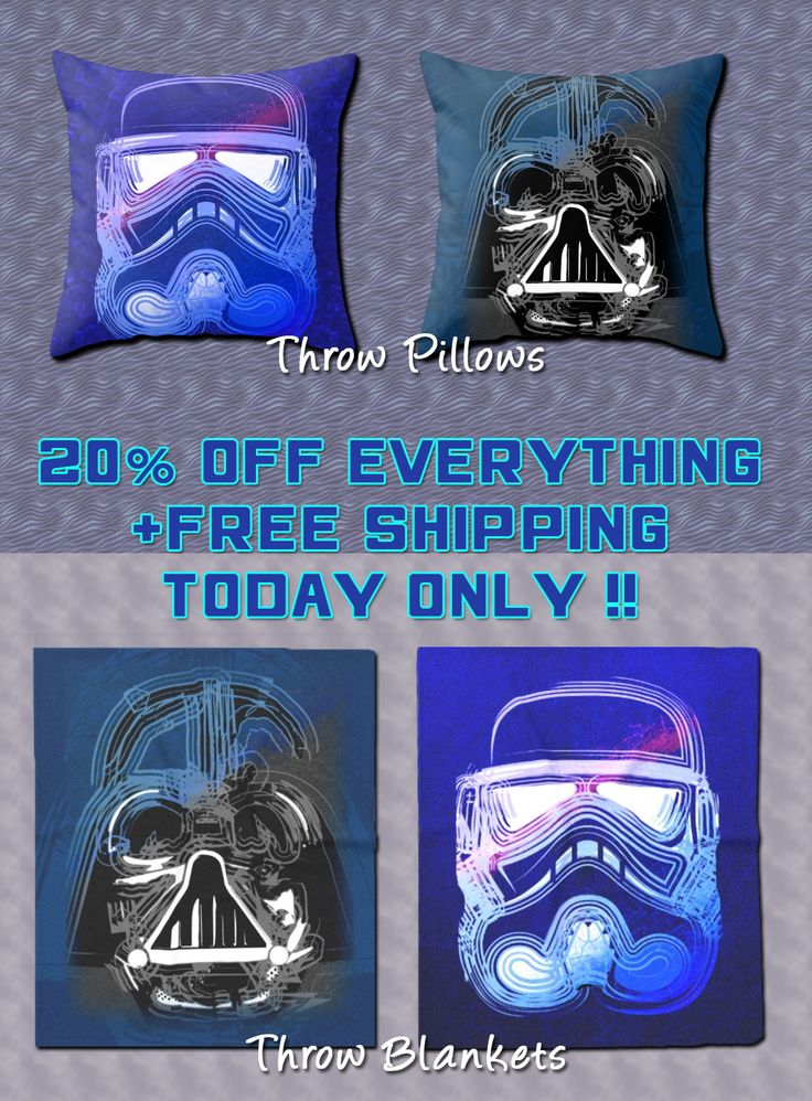 20% OFF EVERYTHING + FREE SHIPPING only Today!!! Get cozy with wonderful Throw Blankets  and a modern Throw Pillows by Scar Design. #scifimovie #throwpillow #throwblanket #kidsroom #kidsblanket #geek #geekgifts #winter #geekpillows #buygiftsforgeeks #geekkids #beachhousegifts #cozy #livingroom #kidsillow #modernpillows #buypillows #giftsforhim #moviegifts  #freeshipping  #discount #save #sales #homedecor #home #decor