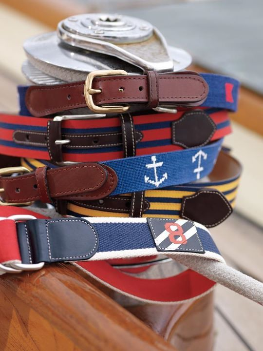 Brooks Brother belts.