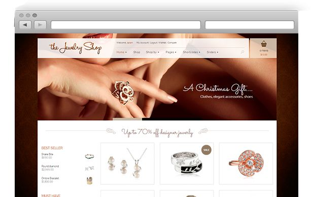 The Jewelry Shop – A luxurious and elegant theme to sell your products