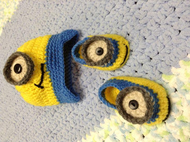 Free Knitting Pattern For Minion Blanket : 49 best images about Minion crochet on Pinterest Minion mayhem, Minion croc...