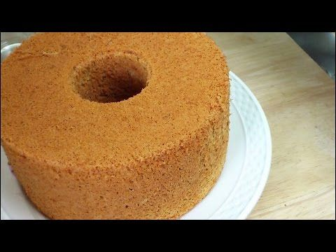 Orange Chiffon Cake (香橙戚风蛋糕) ** - YouTube
