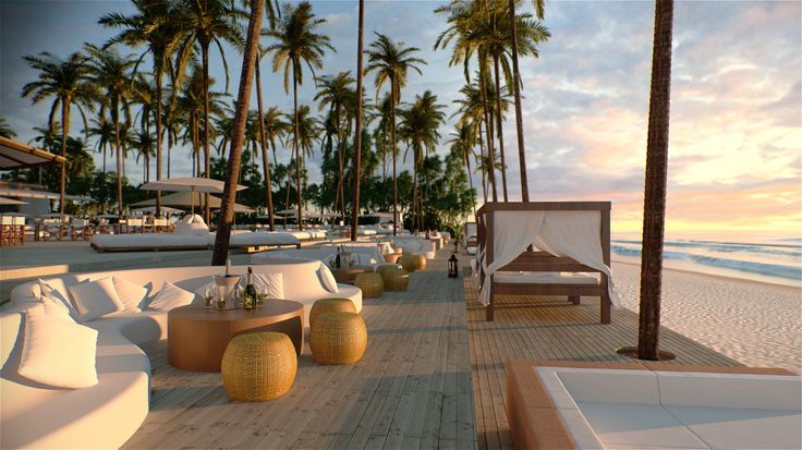 Another sneak peek of the soon to be opened Nikki Beach Club, Phuket