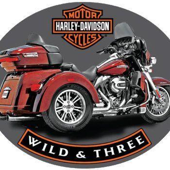 Harley Davidson Trike Sign