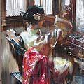 Műfaj és a portré festészet Sterkhov on-line művészeti galéria
