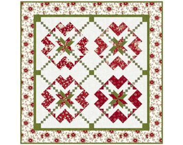 With All My Heart Gre/Red *FREE Pattern*