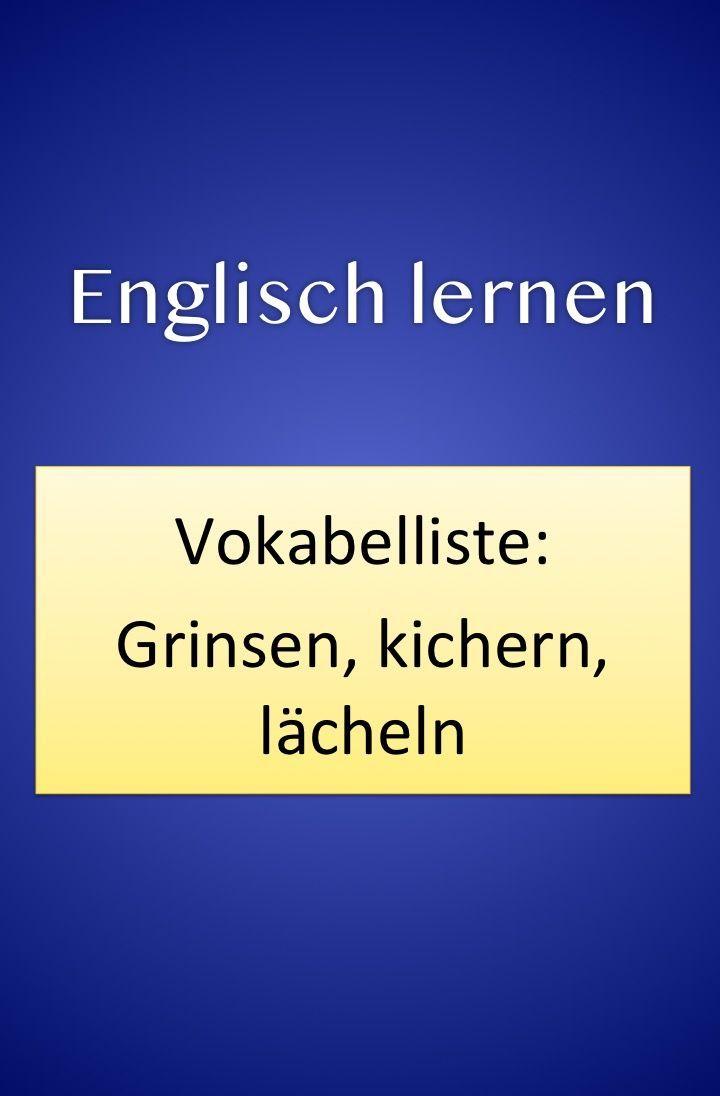 Englisch Vor