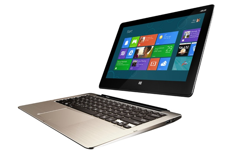 The Asus Transformer Book - the first ultrabook to sport a detachable screen