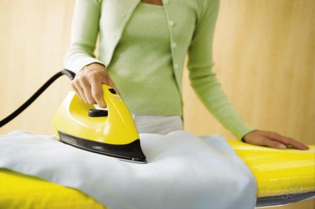 Как убрать лоск с одежды в домашних условиях 0