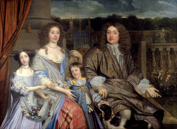 The Family of Sir Robert Vyner, by John Michael Wright, 1673 | Sir Robert Vyner, 1st Baronet, (alternatively Viner) (1631-1688), Lord Mayor of London, was born in Warwick, but migrated in early life to London, where he was apprenticed to his uncle, Sir Thomas Vyner (1558–1665), a goldsmith-banker, was Lord Mayor of the City of London in 1674–1675