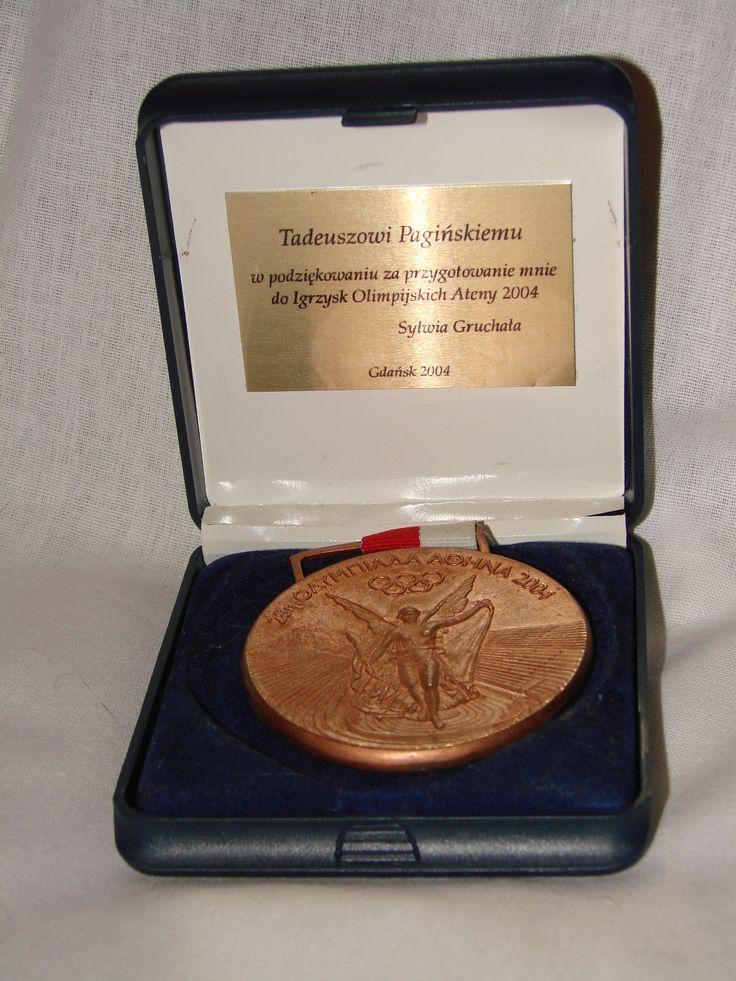 Olimpiada 2004 Ateny - Brązowy medal indywidualnie - Sylwia Gruchała - Floret Kobiet - trener Tadeusz Pagiński.