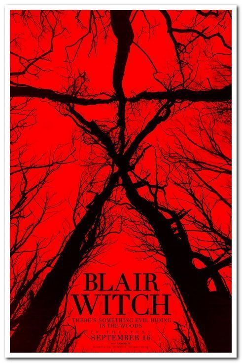 "BLAIR WITCH - 2016 - Original 27x40 ADVANCE ""A"" Movie Poster - VALORIE CURRY"