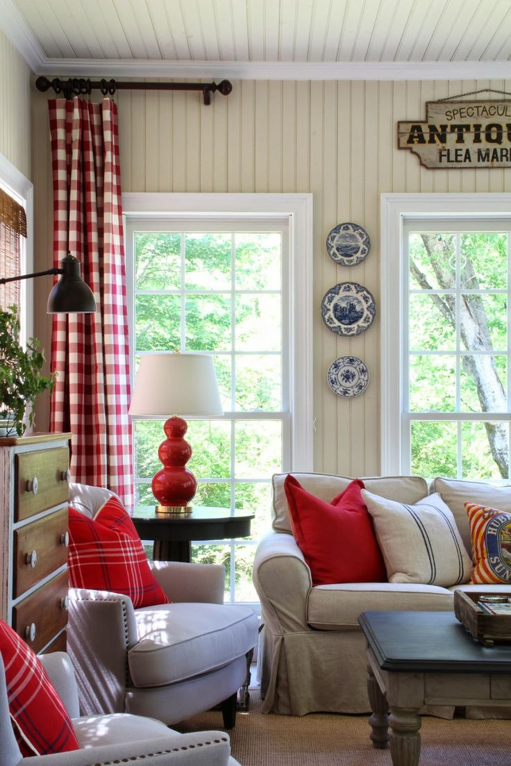 The 25 Best Red Curtains Ideas On Pinterest Red Decor Accents Red And Grey Curtains And