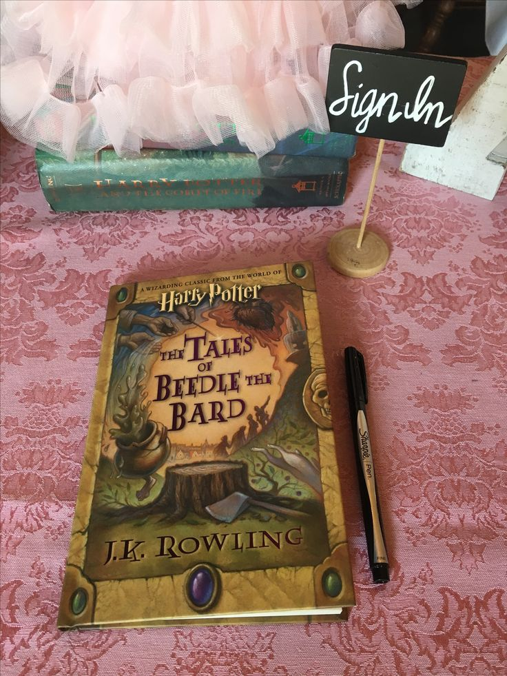 Harry Potter baby shower, Harry Potter guestbook, sign in table, baby girl shower