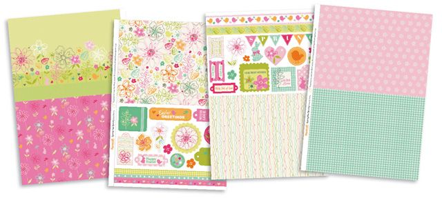 FREE Spring Has Sprung papers to download from issue 98! | Papercraft Inspirations