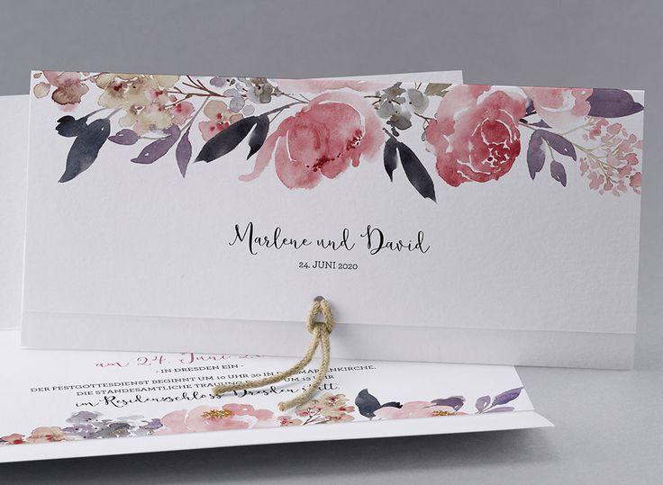 24 best hochzeit einladungen images on pinterest | marriage, Einladungsentwurf