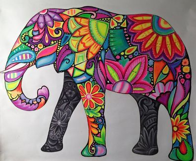 elephant paintings - Buscar con Google