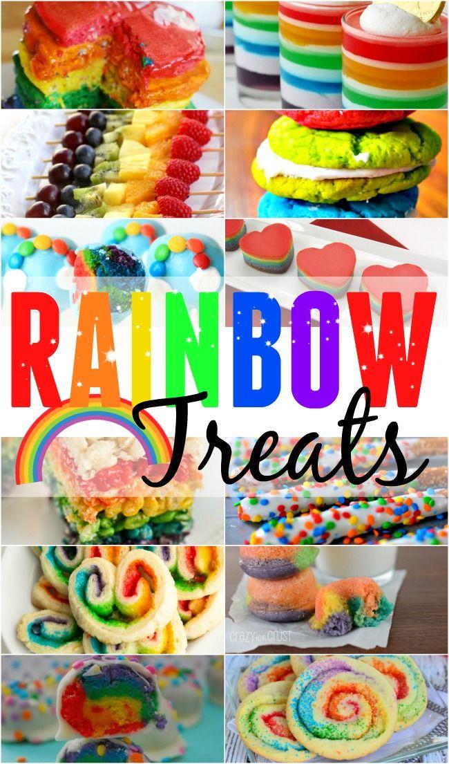 Rainbow Treats... Perfect for St. Patrick's Day.
