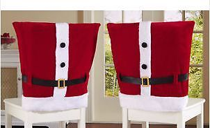 PAIR-OF-CHRISTMAS-SANTA-SUIT-CHAIR-COVERS-RED-WHITE-FITS-MOST-CHAIRS