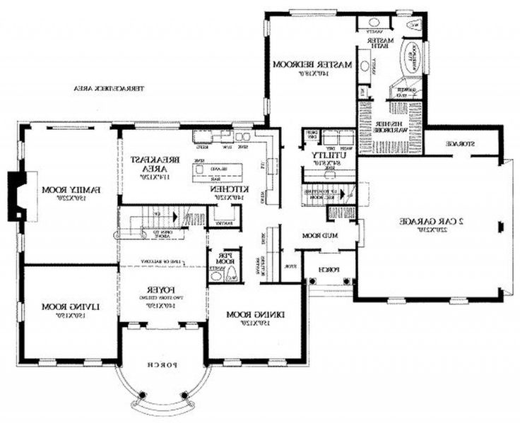 71 best Floor plans images – 2 Bedroom House Plans With Attached Garage