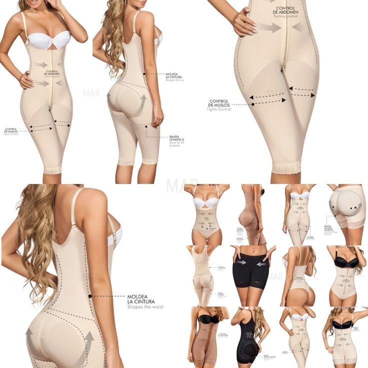 Magic Body Shaper Knee, Strong Compression, Butt lifter,Faja Mujer Levanta Cola: 1002 Post-Surgical… #WomensClothing #LadiesClothes