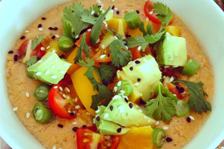 The Ultimate Summer Gazpacho [Vegan, Raw, Gluten-Free] | One Green Planet