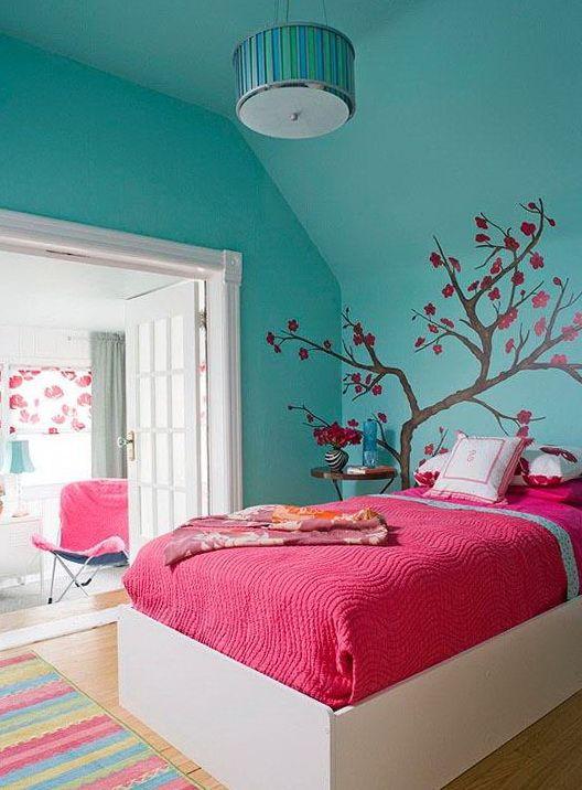 40 habitaciones increíbles en color turquesa Decoracion