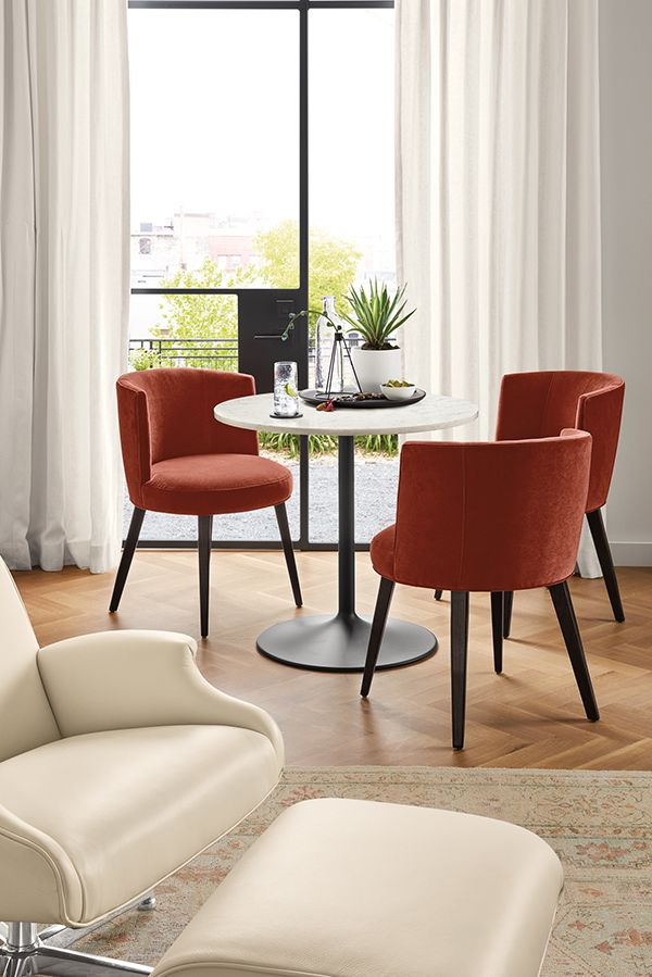 aria round tables in 2019 small space ideas modern dining chairs rh in pinterest com