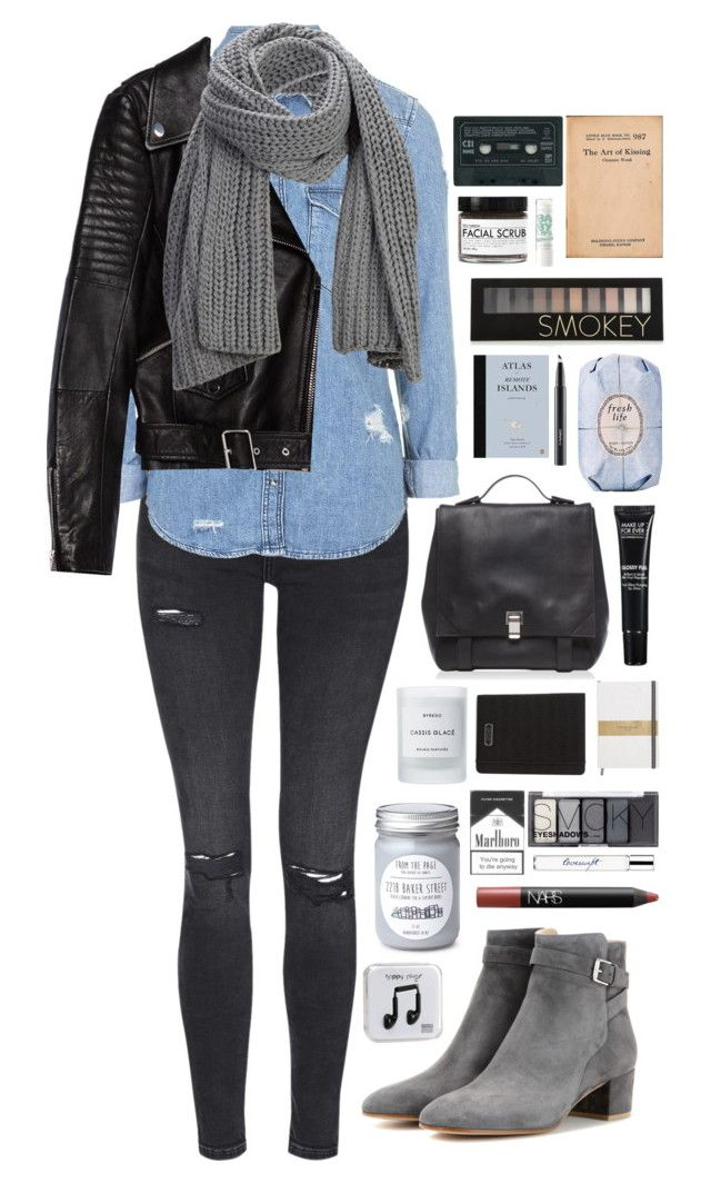 But It's Better If You Do by ellac9914 on Polyvore featuring Topshop, Zara, Gianvito Rossi, Proenza Schouler, Marc by Marc Jacobs, SELECTED, Forever 21, H&M, MAKE UP FOR EVER and NARS Cosmetics