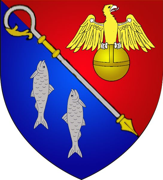 Coat of arms of the municipality of Dalheim, Luxembourg