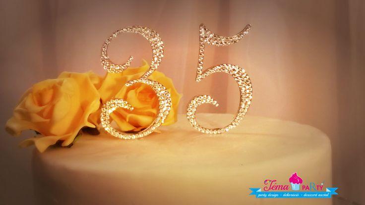 Esküvői kristály tortadíszek - Monogram wedding cake toppers with rhinestone