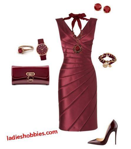 17 mejores ideas sobre Vestidos Color Vino Cortos en Pinterest | Vestidos de color vino ...