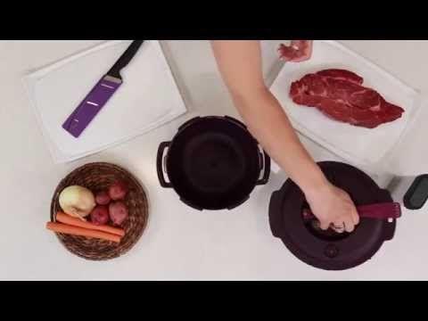 Tupperware microwave pressure cooker   beef stew WWW.TWTexas.com 210-445-7257