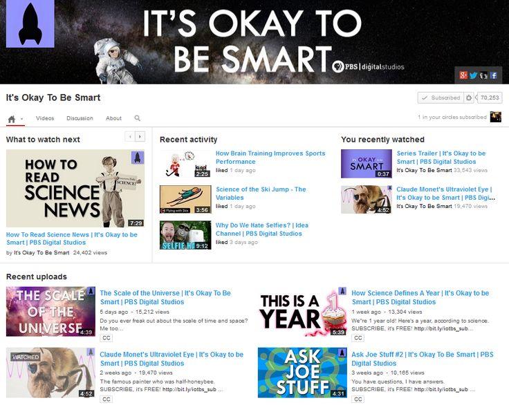 It's Okay to Be Smart (PBS)