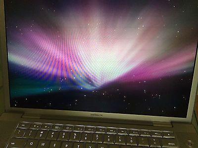 "Apple MacBook Pro A1260 15.4"" Laptop 2.4GHz Core 2 Duo 160GB"