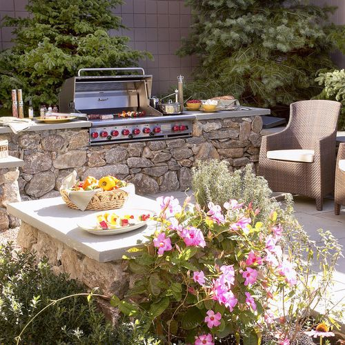 Renovation Rumble Kitchen: Outdoor Grill Area, Grill Area And Built In Bbq