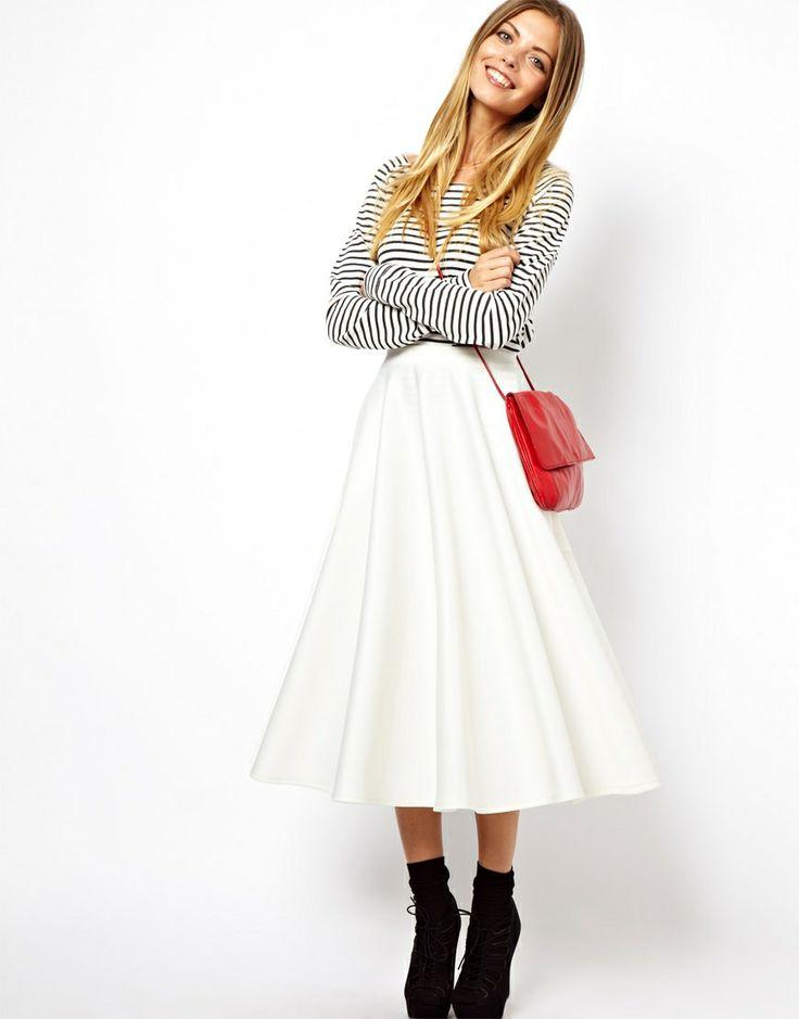 101 best images about Skirts on Pinterest | ASOS, Full midi skirt ...