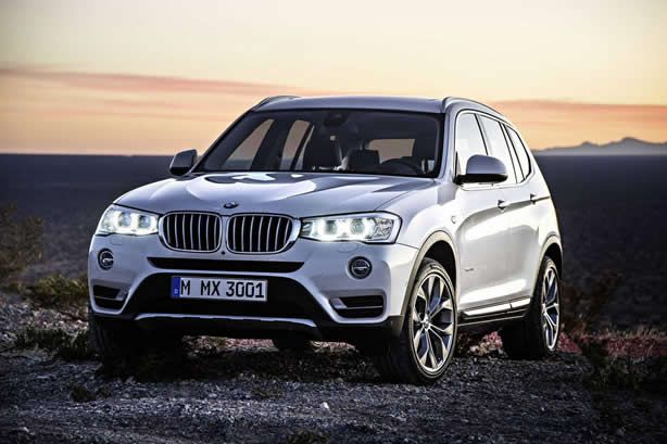 BMW facelifts the X3 - Speed Carz