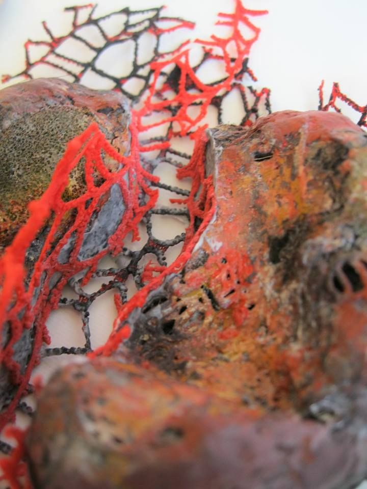 Yiota Vogli - 'Arteries & Veins', 2015 experiment, at Anamma - detail