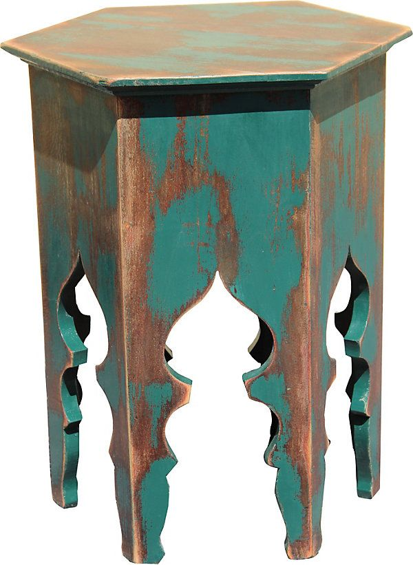 One Kings Lane - Vintage Moroccan Table