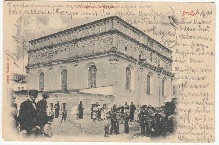 Brody  Judaika Synagoga  1902 r. Synagogue