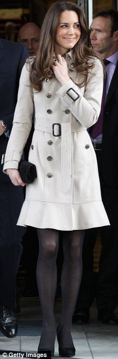 kate's burberry trench