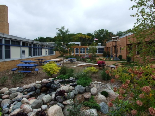 Outdoor Classroom Ideas Elementary School ~ Deephaven elementary school in mn interactive outdoor